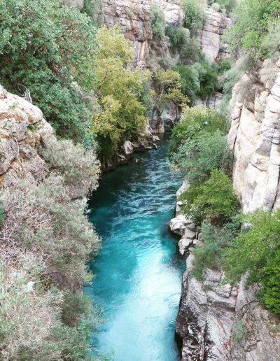 Köprülü Kanyon, Turkije