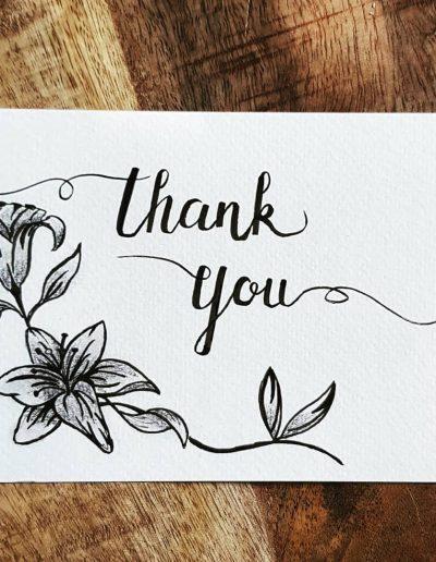 Bedanktkaart