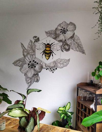 Mural - Apis mellifera