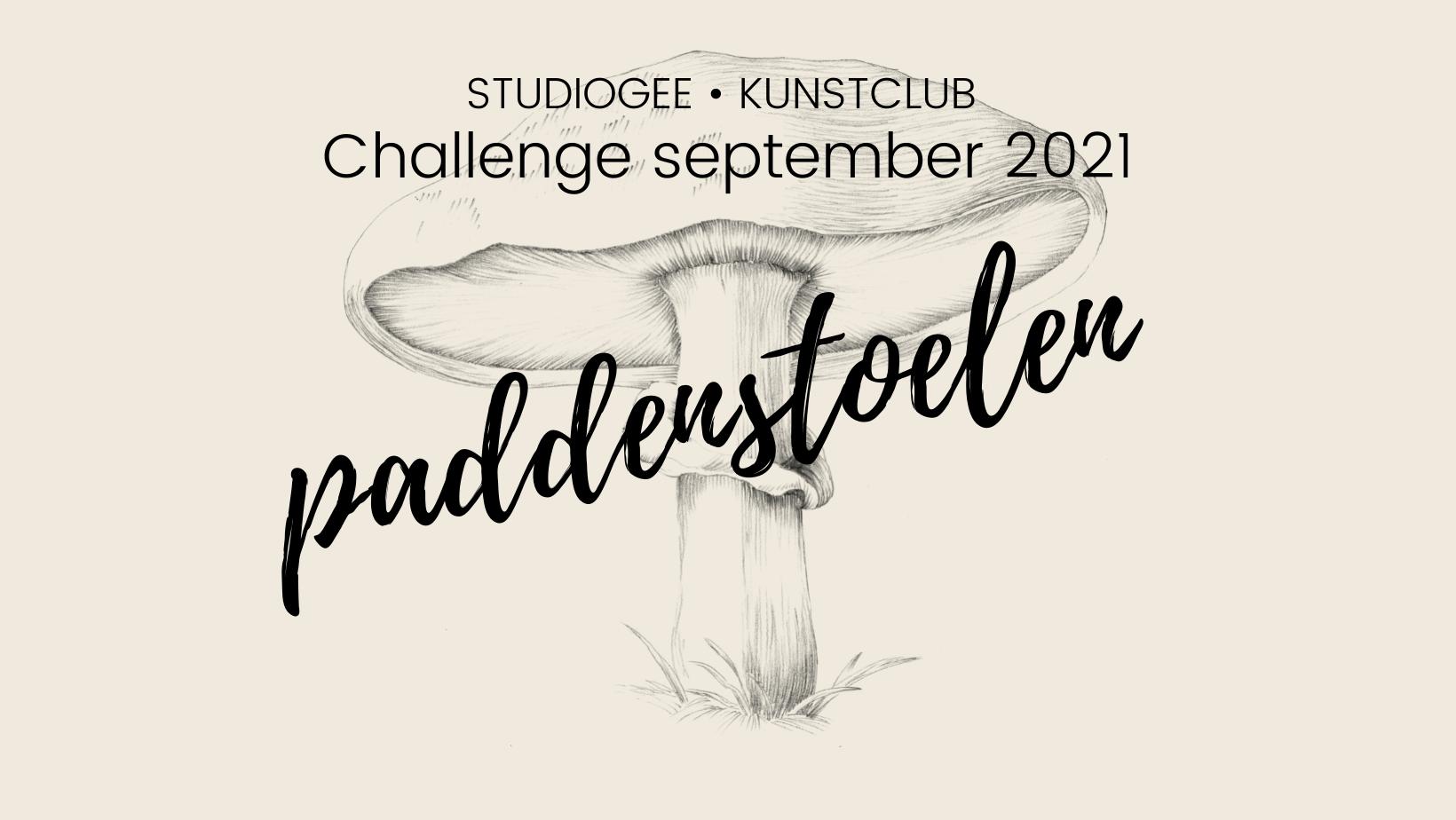 Doe mee met de StudioGee Paddenstoelen Challenge 2021