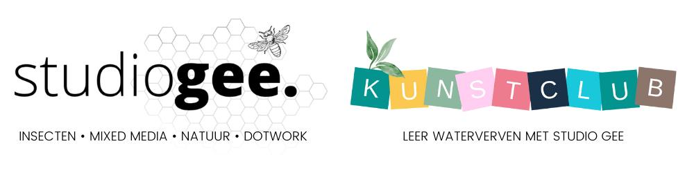 Logos samengevoegd STUDIO GEE KUNSTCLUB