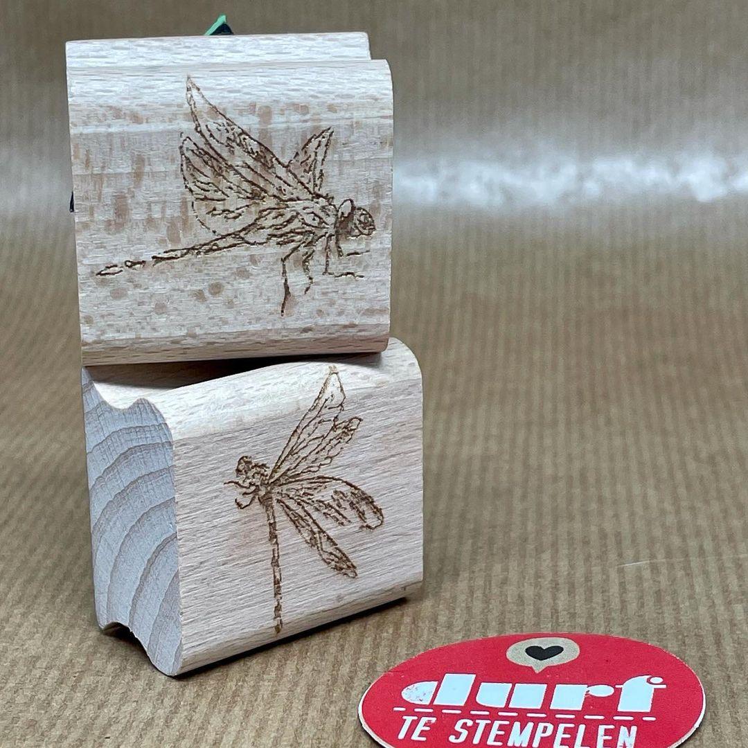 stempel libellen Tera en Odon