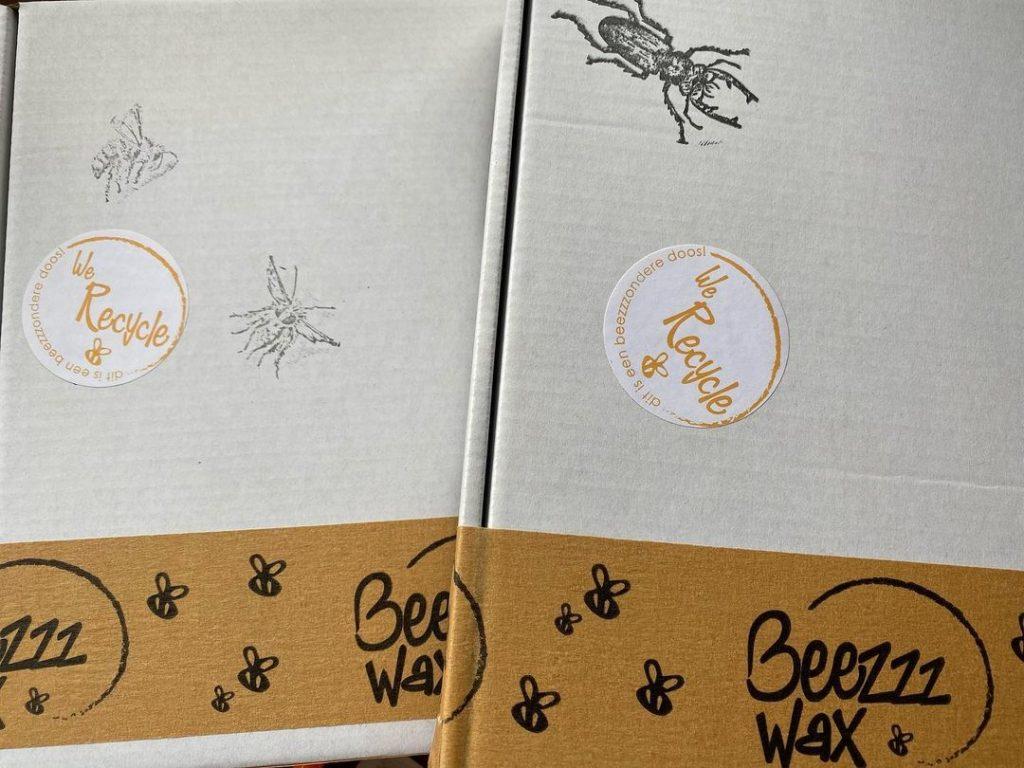 insecten stempels durftestempelen Beezzz Wax 1