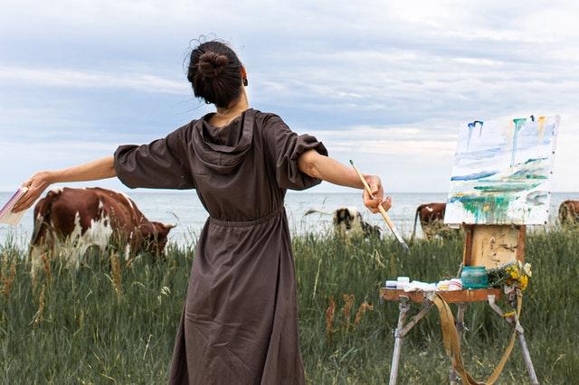 manieren om artistieke inspiratie te vinden