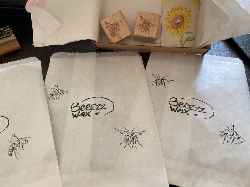 phila en apoi bijen stempels durftestempelen beezzzwax 1