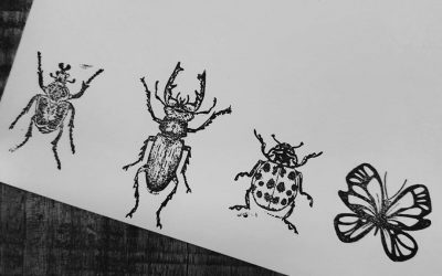 Insecten stempels!