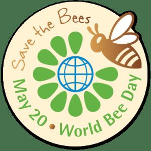World Bee Day logo